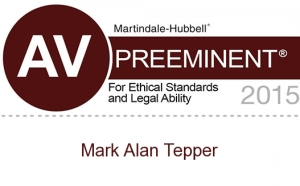Mark Tepper AV Preeminent